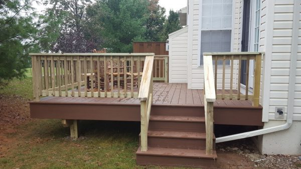 Deck Builders Completed Project