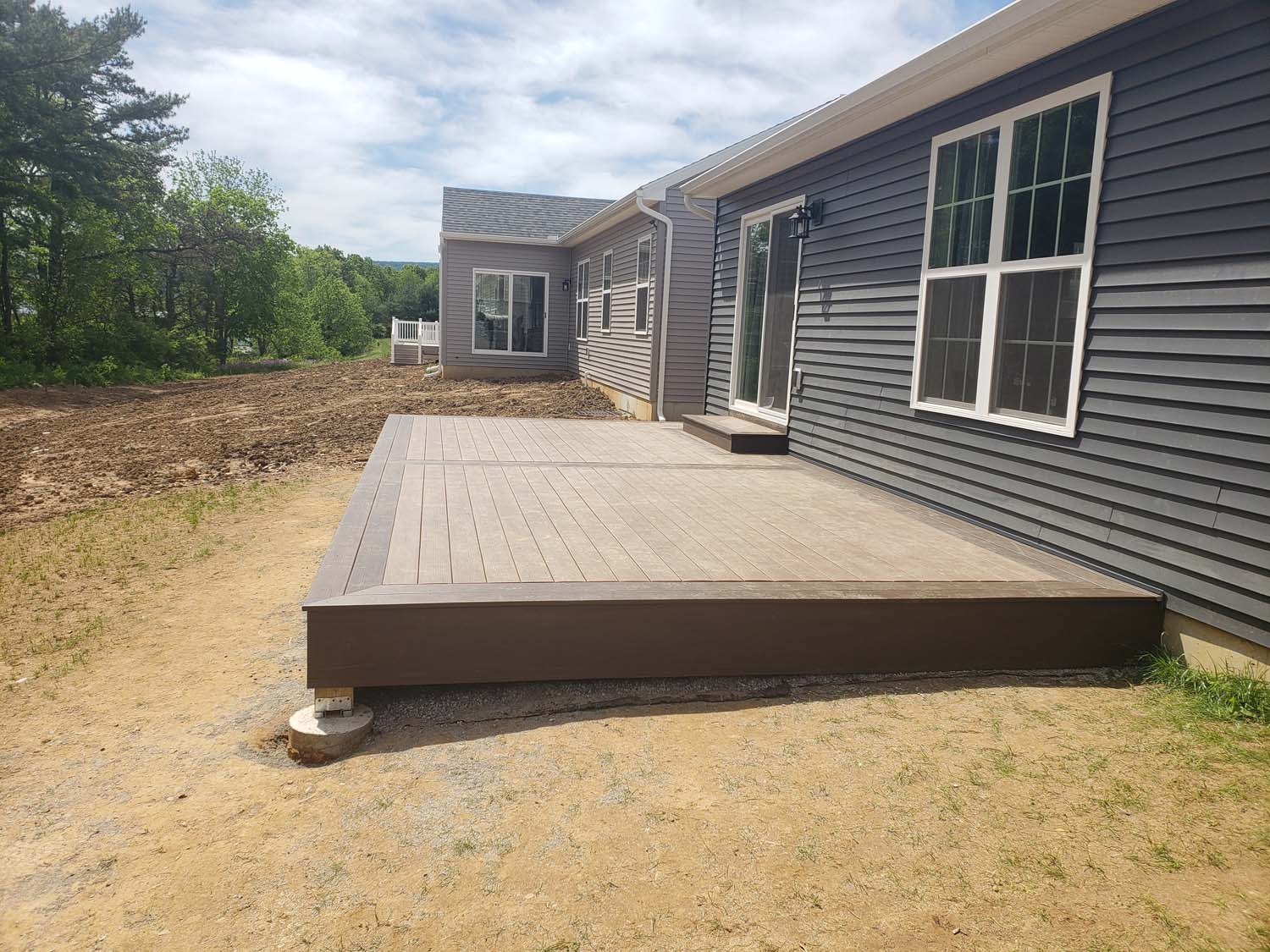 finished deck
